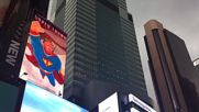 USA: The hero the US deserves? NYC agog as The Donald dons spandex for 55-foot 'Super Trump' ad