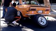 Datsun 510 Stance Drift