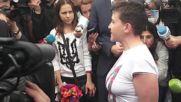 Ukraine: Savchenko vows to return to the battlefield following prisoner swap