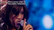 Treyc Cohen sings One - The X Factor Live - itv.com - xfactor