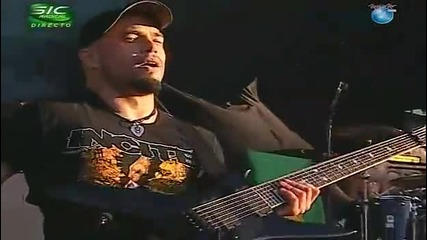 Soulfly - Roots Bloody Roots + Jumpthafuckup @ Live Rock In Rio 2010 Lisbon