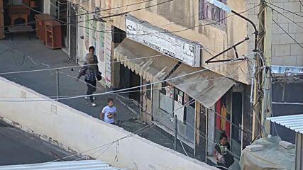 Lebanon: Smoke rises, shots heard amid clashes in Ain al-Hilweh refugee camp