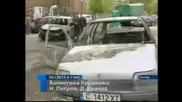 Две коли изгоряха в Обеля