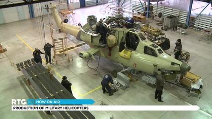 Роствертол - производство на бойни вертолети марка Ми