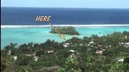 Острови Кук Rarotonga и Плаж Muri