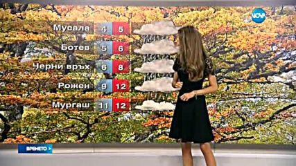 Прогноза за времето (16.10.2016 - обедна)