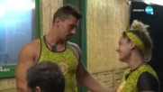 Игри на волята: България (11.11.2019) - част 5: Веско и Роберта не могат да скрият искрите