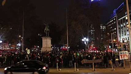 Chile: Hundreds protest in Santiago as TPP-11 moves closer to ratification