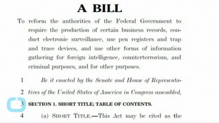 I Will Force the Expiration of The PATRIOT Act...