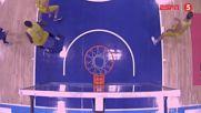 Масов бой на баскетболен мач