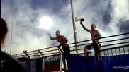 Сините в Стара Загора 10.08.2014 (ultras Levski away at