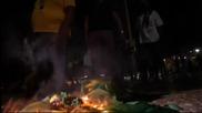 Протестиращи потрошиха телевизионно студио в Рио