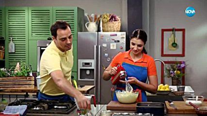 Бисквитена торта с къпини - Бон апети (31.07.2018)