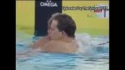 Fina swimming Final men 100m freestyle 30.07.2009.