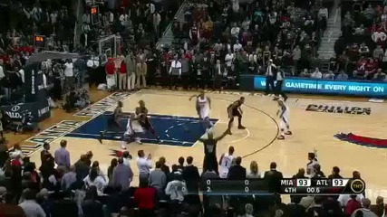 Miami Heat @ Atlanta Hawks 116 - 109 [05.01.2012]