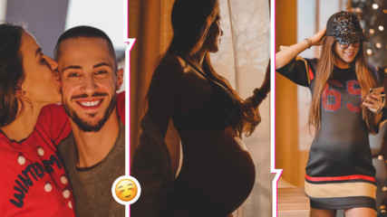 Теа Минкова - прекрасна в края на бременността си! Вижте красотата на бъдещата майка