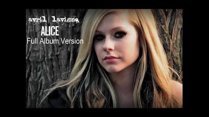 Avril Lavigne - Alice (full version) Hd + Превод и текст
