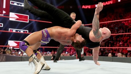 Chad Gable vs. Baron Corbin – King of the Ring Final: Raw, Sept. 16, 2019