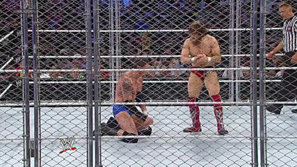 Daniel Bryan vs. Wade Barrett – Steel Cage Match: SmackDown, Aug. 23, 2013 (Full Match)