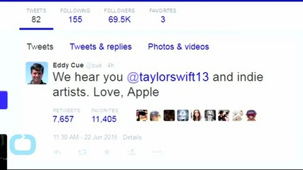 Apple Executive Explains Why Taylor Swift Was Right