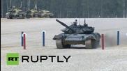 Русия: Полуфиналите на Биатлон с танкове 2015 се проведоха извън Москва