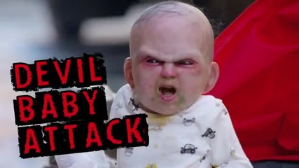 Демоничното бебе (скрита камера)