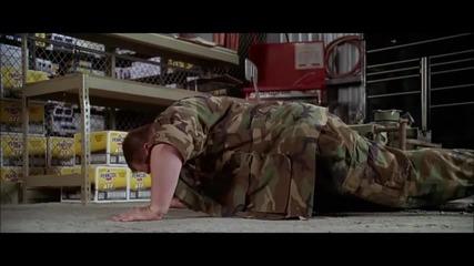 Десет лицеви опори-откъс от филма Sgt Bilko - ( Много Смях )!