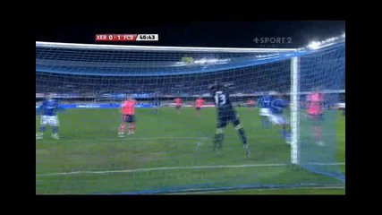 Xerez - Barcelona 0 - 1 Henry