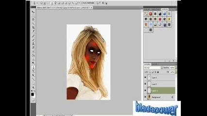 Как да си направим зомби с photopshop