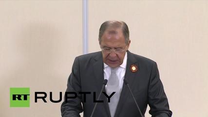 """Лавров: """"Русия и САЩ са единни в идеята за мирно разрешаване на кризата в Украйна."""""""