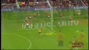 10.12.11 Манчестър Юнайтед 4 - 1 Уувърхямптън - Най - доброто от мача