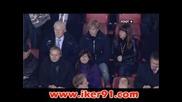 04.11 Ливърпул - Атлетико Мадрид 1:1 Стивън Джерард изравнителен гол от спорна дузпа в 93 мин.