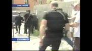 Саакашвили Бяга ... от въбражам противник !?!