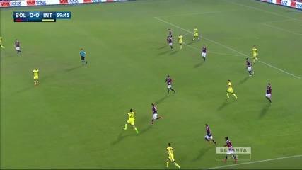 Болоня - Интер 0:1
