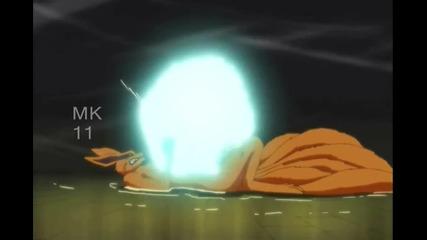 Naruto, Killer Bee, and Kushina vs Kyuubi Amv Rise of the Broken