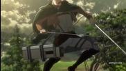 Attack on Titan - Сезон 1 Епизод 17 English Dubbed 2013 (английско аудио