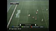 Много конфузна ситуация на P E S 2010 (pro Evolution Soccer) (смях)