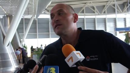 Барчовски иска по-здрава защита на път за турнира в Кипър