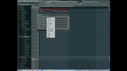 Fl Studio 10 (как да направите) Basto - Again and again