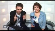 Shia Labeouf & Megan Fox - answer questions