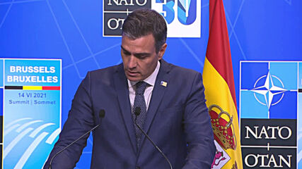 Spain: Sanchez calls Biden a 'progressive inspiration' after NATO summit