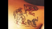 Татуси! Ultras C S K A Tattoo !