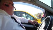 Hungary: Hundreds of taxis block traffic in Budapest anti-Uber protest