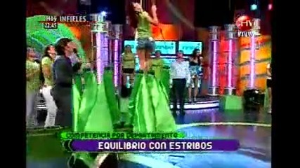 22.04.2010 Reality Show In Chile Yingo с участието на Evailo