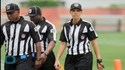 NFL Reportedly Hiring Sarah Thomas as the First Female Official