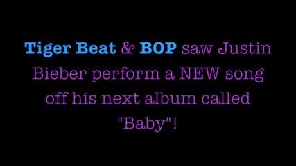 Justin Bieber Singing Baby