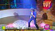 David Bisbal Programa Hoy 2002 Ave Maria Entrevista Y Llorare Las Penas