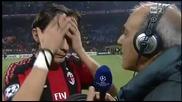 Milan - Real Madrid 2 - 2 - Intervista Inzaghi