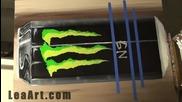 Za fenove na Energiinata napitka Monster Energy