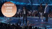 Kendrick Lamar crowned king of the 2017 VMAs